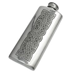 Flask with Celtic decoration