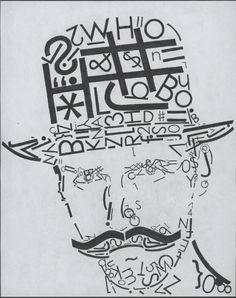 Mike Bayless '14: Typography Letterform Portrait