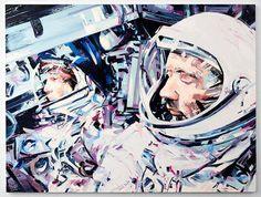 Space Paintings by Michael Kagan – Fubiz Media