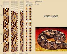 """VITALINNA: Mon """"serpentarium"""" 3 (motifs pour les colliers au crochet)"""