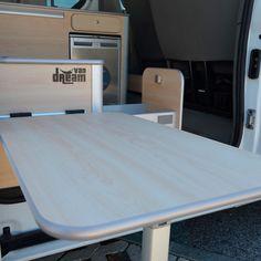 Opel Vivaro – Van Dream Madrid F35, Opel Vivaro Camper, Toyota Hiace Campervan, T5 Caravelle, Build A Camper Van, Van Conversion Interior, Renault Master, Campervan Interior, Interior Exterior
