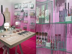 Apoliva pop up store by Kollo, Stockholm   Sweden pop up beauty health