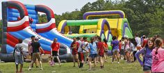 Central Middle School students take part in a field day on Monday, June 20, 2016, in memory of teacher Emily Zarnoch, who was killed by a drunken driver in Maine just before starting as a full-time teacher at the school. Money raised from the field day will be donated to scholarships in her name. — Greg Derr/The Patriot Ledger