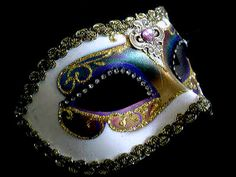 Masquerade Mask; bring your own for reception and well provide some just in case someone forgets!
