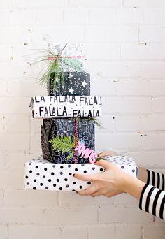 Free Download - Printable wrapping paper - holiday-babasouk