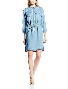 Size 14 (Manufacturer Size:42), Medium blue, minimum Women's Ginna Dress Long Sl
