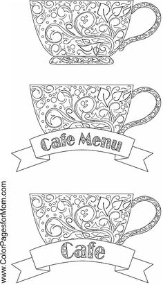 coffee coloring page 13