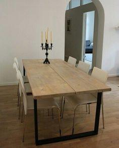 Kitchen Dining, Dining Table, Minimalist, Rustic, Interior Design, Furniture, Home Decor, Decoration, Scandinavian