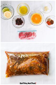 Balsamic Marinade, Steak Marinade Best, Fajita Marinade, Steak Fajitas, Best Steak, How To Grill Steak, Different Steaks, Juicy Steak, Angus Beef