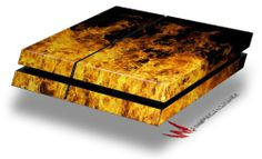 Open Fire - Decal Style Skin fits original PS4 Gaming Console - http://androidizen.com/shop/open-fire-decal-style-skin-fits-original-ps4-gaming-console/