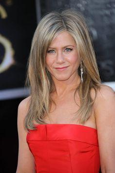 Jennifer Aniston - celebrity hairstyles