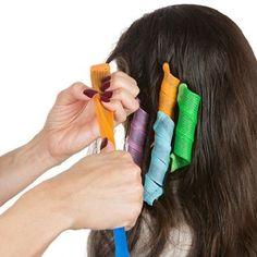 Magic Hair Curlers Twist Leverage Curl Formers Set - 18 Piece Set