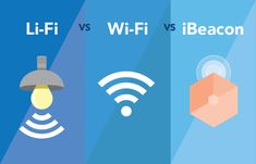 LiFi vs WiFi vs iBeacon (BLE) technology is part of Li Fi Vs Wi Fi Vs Ibeacon Ble Technology Beaconstac - Discover how LiFi technology is different from WiFi and iBeacon technology, with some quick LiFi FAQs Lifi Technology, Technology Posters, Technology Hacks, Technology Design, Computer Technology, Art And Technology, Energy Technology, Educational Technology, Technology Apple
