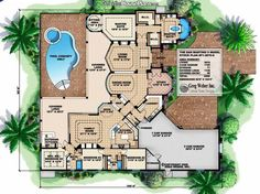 floor plan - would need some slight changes, but very nice!!