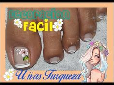 Cute Pedicures, Manicure Y Pedicure, Hot Nails, Toe Nail Art, Flower Nails, Nude Color, Beauty Nails, Nail Colors, Nail Designs