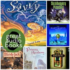 8 Great Audiobooks (for the whole family!) for Roadtrips