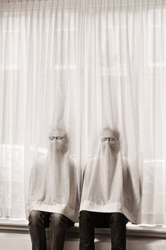 Invisibles will often sit behind curtains and other clinging types of fabric in order to feel more a part of the group.