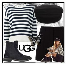 """The New Classics With UGG: Contest Entry"" by brooklyn-21 ❤ liked on Polyvore featuring DKNY, Yves Saint Laurent, UGG, Étoile Isabel Marant and ugg"