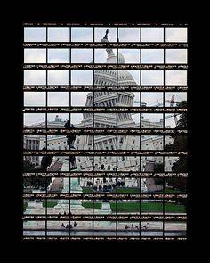 "Thomas Kellner: 41#03 Washington, Capitol I, 2004, C-Print, 53,0x90,0 cm/20,7""x35"", edition 20+3"