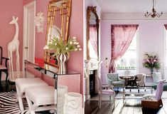 Loving this series of pink rooms