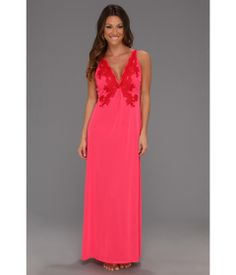 gorgeous gown in bright red