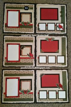 Janel's Creative Corner: Holy Cow Christmas is Coming sooon! Here is a sneak peek of the pages I am creating for sale the month of Nov. Scrapbook Layout Sketches, Scrapbook Templates, Scrapbook Designs, Scrapbooking Layouts, Card Sketches, Christmas Scrapbook Layouts, Scrapbook Paper Crafts, Scrapbook Cards, Christmas Layout