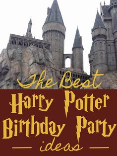The Perfect Harry Potter Birthday Party - tons of great projects to have the best Harry Potter Birthday Party!