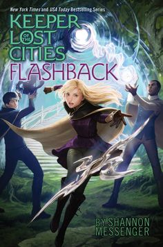 The cover for FLASHBACK (Keeper of the Lost Cities #7)