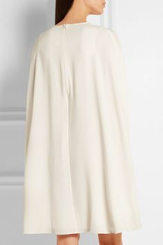 Co   Cape-back crepe dress   NET-A-PORTER.COM