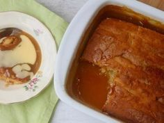 This butterscotch pudding is self-saucing with a delicious, gooey golden syrup. Serve with custard or ice cream and watch it disappear. Pudding Recipes, Waffle Recipes, Baking Recipes, Dessert Recipes, Yummy Recipes, Cake Recipes, Making Sweets, Cake Making, Desert Recipes