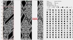 55 схем вязания жгутов на 25-40 бисерин / Вязание с бисером / Biserok.org