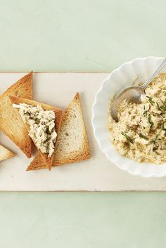 """NYT Cooking: Crab Newburg was Marjorie Kinnan Rawlings's most celebrated dish, the one on which the Florida author of """"The Yearling"""" claimed laurels as a cook. It is a version of the famous 19th-century lobster recipe popularized at Delmonico's in New York.Making it is an easy business, as much an assemblage as a recipe. You heat crabmeat in an enormous amount of butter, thic... Lobster Recipes, Seafood Recipes, Appetizer Recipes, Appetizers, Crab And Lobster, 19th Century, Cooking Crab, Cooking Recipes, Pastry Shells"""