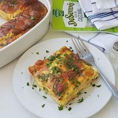 Clatite americane cu sunca si legume Sweet Cakes, Lasagna, Carne, Quiche, Pizza, Breakfast, Ethnic Recipes, Food, Honey