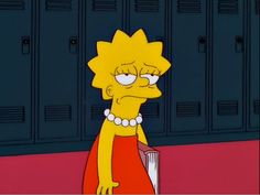 And finally, when she was just really done with everyone's shit. 21 Times Lisa Simpson Was A Big Fucking Mood Lisa Simpsons, Simpsons Quotes, The Simpsons Tumblr, Simpsons Meme, Reaction Pictures, Funny Pictures, Simpson Tumblr, Funny Memes, Hilarious