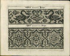 Johan Sibmacher's 1597 pattern book, Schon Newes Modelbuch