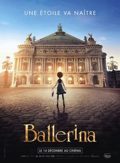 Leap – Ballerina: Set in 1879 Paris. An orphan girl dreams of becoming a ballerina and flees her rural Brittany for Paris, where she passes for someone else and accedes to the position of pupil at the Grand Opera house. Streaming Tv Shows, Streaming Vf, Streaming Movies, Hd Movies, Disney Movies, Movies To Watch, Movies Online, Action Movies, Movie Tv