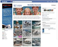 MarineMax, Inc - the worlds largest boat dealer contacted us to make a slew of custom Facebook landing pages showcasing their boats, services, accessories and other programs. We delivered a robust design and their social media campaign has never been better!