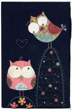 <3 owl love @Ellen Benson