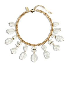 Chico's Ott Lucite Bib Necklace