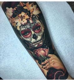 """196 Likes, 1 Comments - The Metal Page (@themetalpageofficial) on Instagram: """"This looks so realistic, incredible ink. #ink #tattoo #tattoos #sleeve #sleevetattoo #art #artist…"""""""