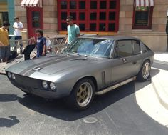 1971 Jensen Interceptor. Such a beautiful car. For me it looks like a baby Eleanor from Gone in 60 seconds.