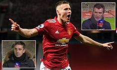 Gary Neville compares Scott McTominay to Roy Keane and Paul Scholes after his goals against Leeds   Daily Mail Online