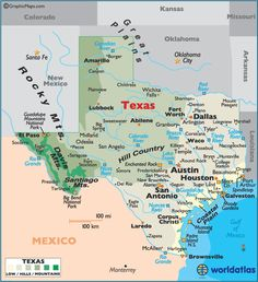 Texas Map / Geography of Texas/ Map of Texas Geography Map, World Geography, Texas Travel, Travel Usa, Texas Cowboys, Only In Texas, Kansas Missouri, China Map, Lubbock Texas