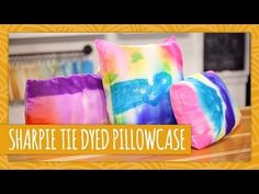 Sharpie Tie-Dyed Pillowcase - HGTV Handmade