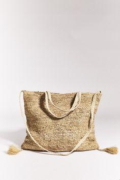 Palma Tote Bag - Natural