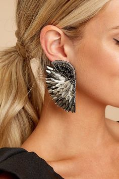 Cross Jewelry / Diamond Earrings / Tiny Diamond Cross Studs in Rose Gold / Rose Gold Earrings / Religious Jewelry Gift / Christmas Gfit - Fine Jewelry Ideas Tiny Stud Earrings, Black Earrings, Rose Gold Earrings, Feather Earrings, Gold Hoop Earrings, Women's Earrings, Diamond Earrings, Unique Earrings, Metallic Earrings