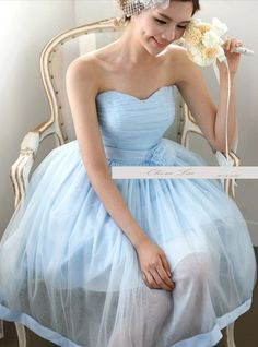 Hey, I found this really awesome Etsy listing at https://www.etsy.com/listing/191956581/light-blue-bridesmaid-dressparty
