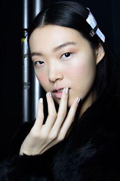 Manicure: trendy jesień-zima 2014/2015, Prabal Gurung, fot. Imaxtree