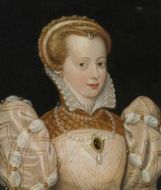 ca. 1565 Lady, possibly Charlotte de Beaune Semblançay, Viscountess of Tours, Baroness de Sauve, Marquise de Noirmoutier by ? (auctioned by Sotheby's) Wm