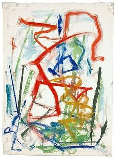 joan mitchell (1925-1992) | untitled | pastel on paper | 1991 | cheim & read | new york NY | photo credit cheim & read